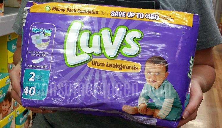 Luvs Diapers $5 per Jumbo Pack at Dollar General!