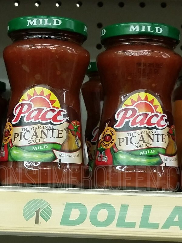 Pace Picante Sauce at Dollar Tree