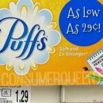 Puffs Facial Tissues 29¢ at Homeland, 74¢ at CVS!