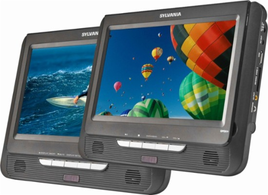 Best Buy Sylvania 9in Portable Dvd Player Only 39 99
