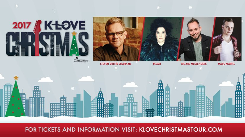 Klove Christmas.K Love Christmas Tour 2017 Comes To Oklahoma City Consumer