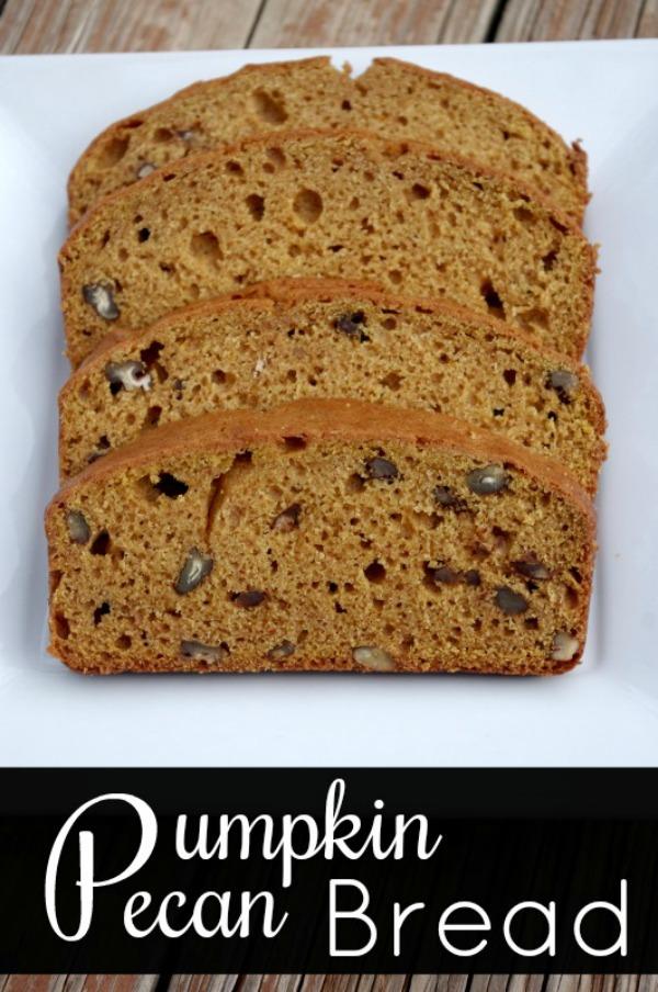 Homemade Pumpkin Pecan Bread Recipe