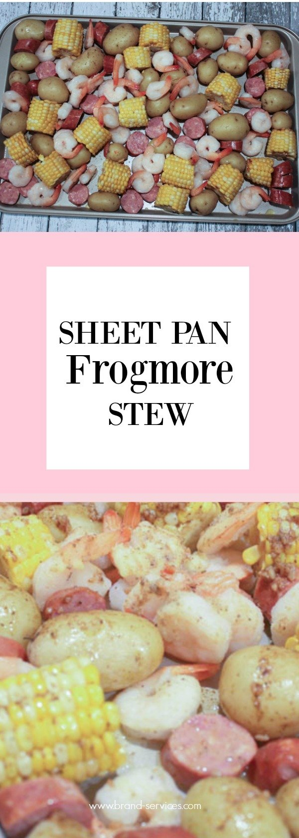 SHEET PAN FROGMORE STEW