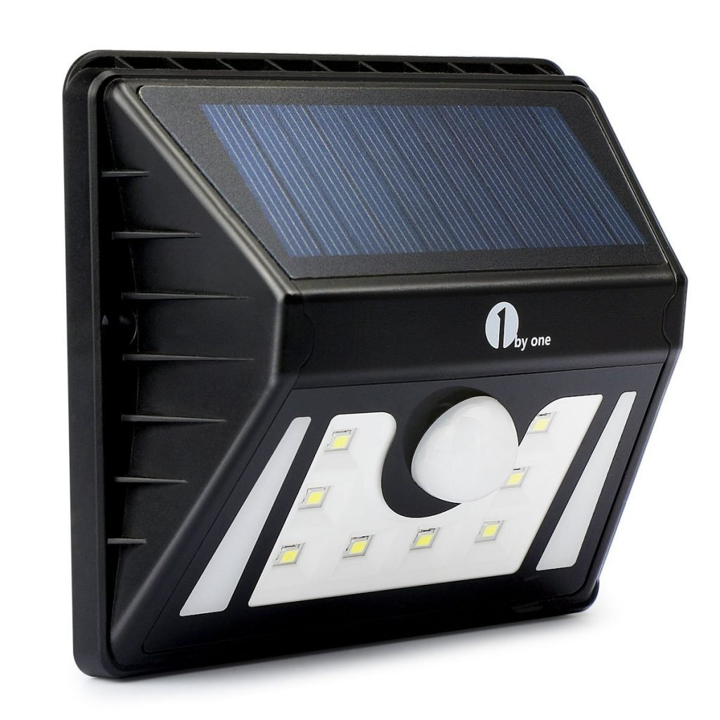 Amazon 1 Byone Solar Motion Sensored Lighting 11 99 Reg