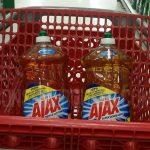 Ajax Dish Soap BIG 52 oz. Bottles $1.77 at Target After Gift Card!