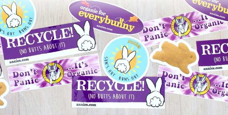 Free Stickers From Annie's Organics (Choose from 5)