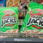 Kelloggs Apple Jacks 99¢ at Walgreens This Week!