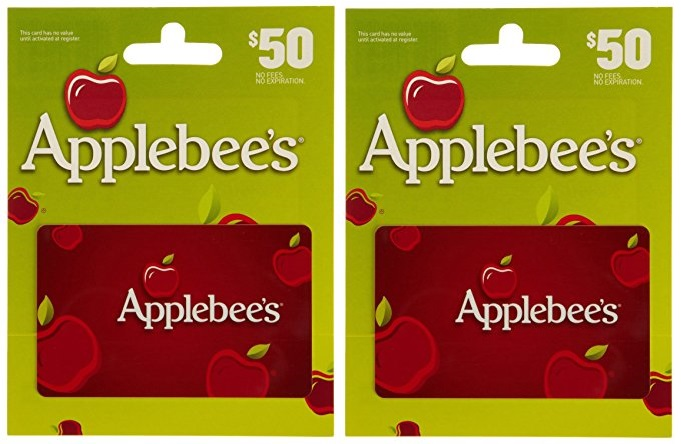 Applebee's $50 Gift Card Only $39 on Amazon – Today Only (10/27)