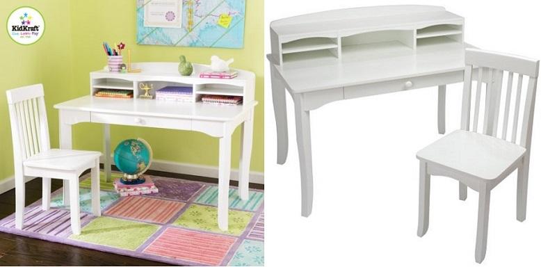 Miraculous Walmart Kidkraft Avalon Desk Set W Chair Only 89 50 Rollback Cjindustries Chair Design For Home Cjindustriesco