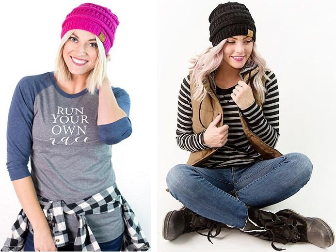 CUTE Winter Beanies – 2 for $22.00 (Only $11 each) Shipped!