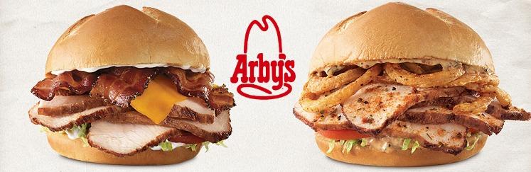 FREE Small Fries & Drink WYB Turkey Sandwich at Arby's!