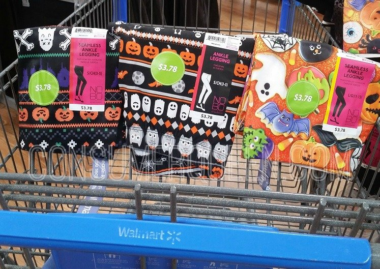 Halloween Leggings as Low as $3.78 at Walmart!