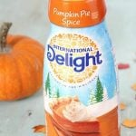 International Delight Sugar Free Pumpkin Pie Spice Creamer 50¢ at Target!
