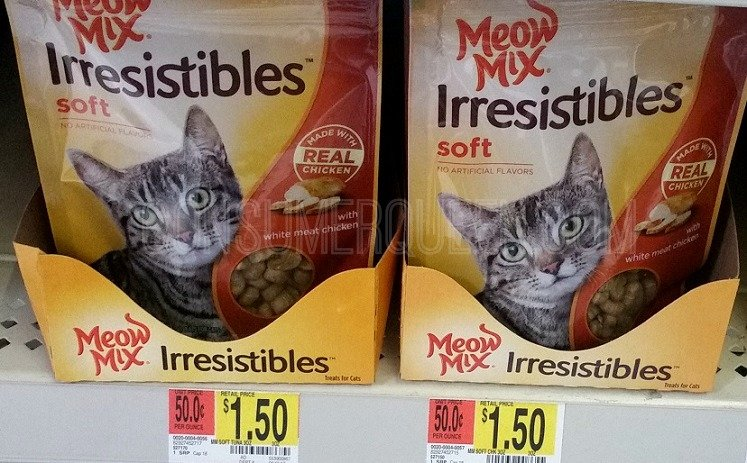 New Meow Mix Coupons + Walmart Deals (as Low as 45¢!)