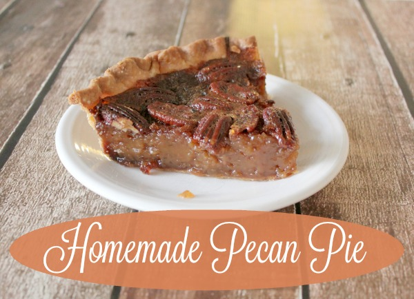 Homemade Pecan Pie Filling