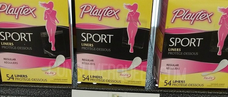 Playtex Sport Pads & Liners 10¢ at Smart Saver!