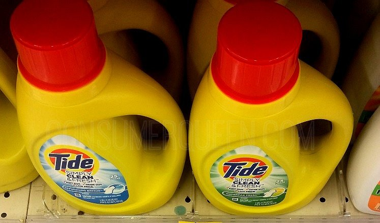 Great Buys on Laundry Detergent at CVS – Tide, Persil Starting 10/8