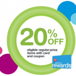 Walgreens Friends & Family – Get 20% Off (Today Only 10/27)