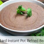 Instant Pot Refried Beans title