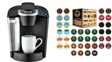 Keurig K55 Brewer + 40 K-Cups – $59.99 (Today Only)