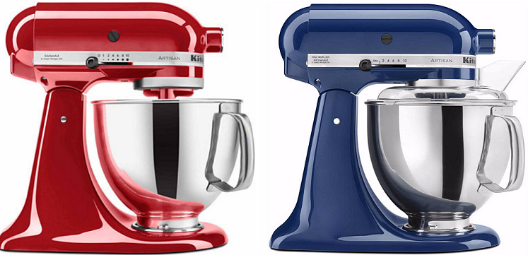 KitchenAid Artisan Series 5-Quart Tilt-Head Stand Mixer $200 ...