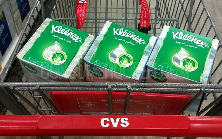 Kleenex Facial Tissue as Low as 66¢ at CVS This Week