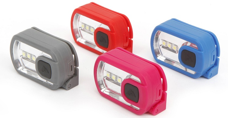 Ozark Trail LED Headlamp 10-Pack Only $4 (Just 40¢ Each)!