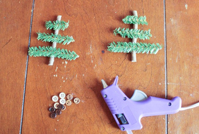 Rustic Christmas Tree Ornaments step 1 (1 of 1)