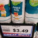 Nice Buy on Angel Soft Bath Tissue at Homeland & Country Mart!