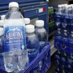 Aquafina 1-Liter Bottles 49¢ at Homeland, 78¢ at Walmart!