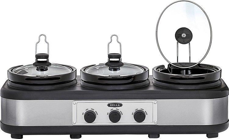 Best Buy: Bella 2.5Qt Triple Slow Cooker $29.99 – Today Only (3/26)