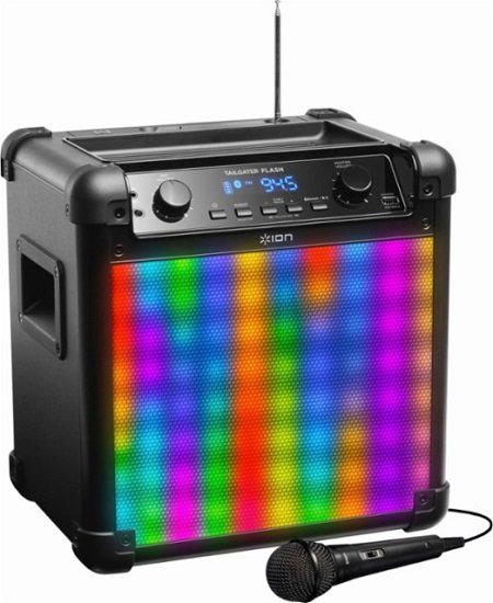 Best Buy Ion Tailgater Portable Bluetooth Speaker 71 99 Today Only 3 5
