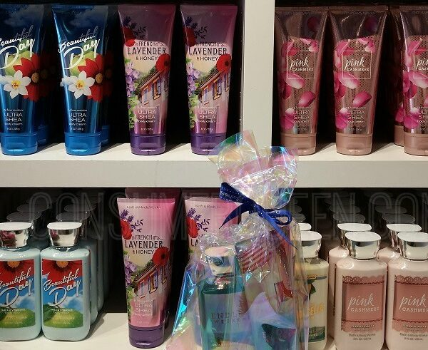 body lotion body care