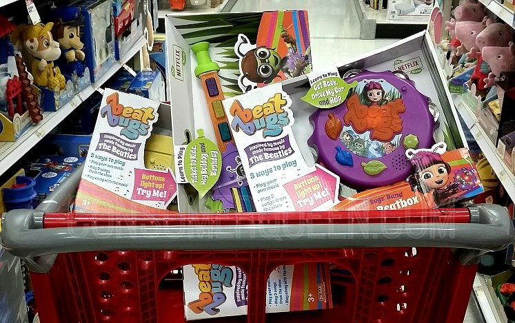 Target Daily Toy Deal:  – Up to 60% Off Beat Bug Today Only (11/2)