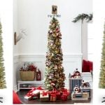 Michaels: 7ft. Pre-Lit Pencil Christmas Tree Only $49.99 + Free Shipping