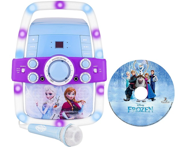 Disney Frozen Flashing Lights Karaoke Machines As Low As