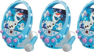 Disney Frozen Flashing Lights Karaoke Machines as Low as $19.97 (reg. $64.91!)