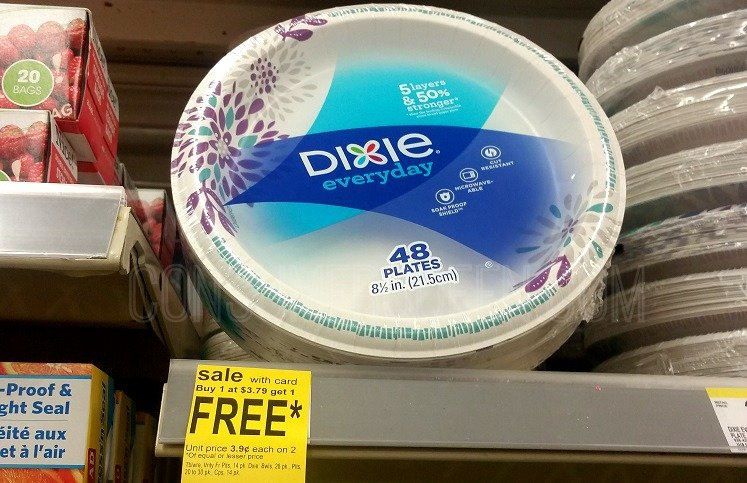 Great Buys on Dixie Paper Plates & Cups at Walgreens