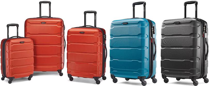 4ff2f2ad0 Kohl's: Samsonite Omni PC Hardside Spinner Luggage Only $143.99