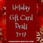 Restaurant & More Holiday Gift Card Deals 2017!