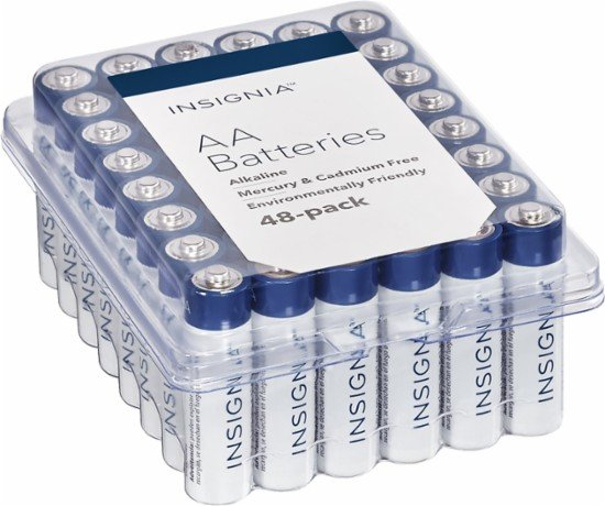 Best Buy: Insignia AA/AAA Batteries (48 Pack) Only $6.99 + FREE Shipping!