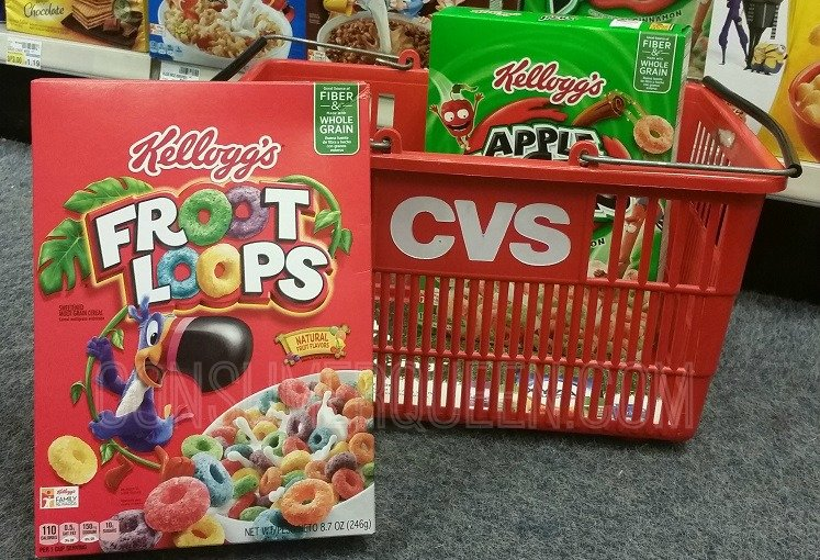 Kellogg's Breakfast Cereal as Low as 94¢ at CVS This Week