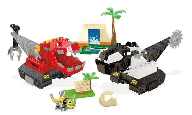 60% off Mega Construx Power Rangers, Despicable Me, & Dinotrux Sets!