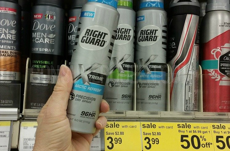 New Right Guard Coupons Walmart Walgreen Deals