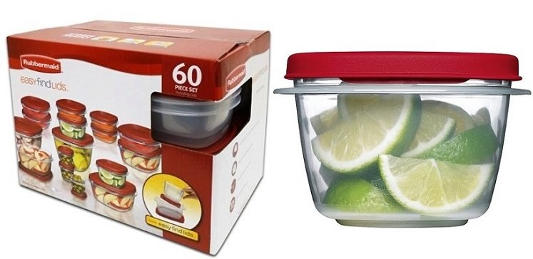 Rubbermaid Storage 60-pc Set Only $13.25 – Today Only on Amazon!