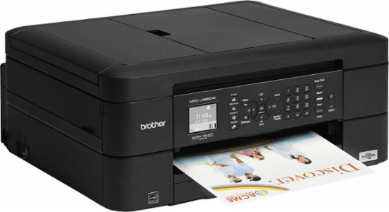 Bother All-In-One Wireless Printer Only $39.99 at Best Buy!