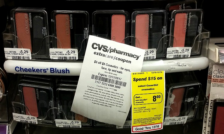 CoverGirl Cosmetics as Low as 6¢ With CVS Coupon!