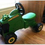 Holiday 2017 Product Review: John Deere Foot to Floor Toy Tractor!