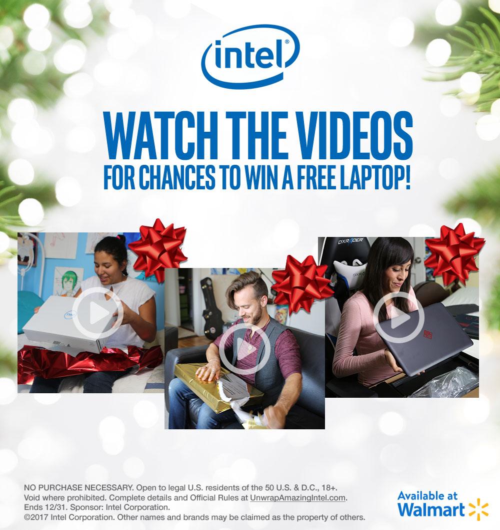 Find Intel® at Walmart this Holiday Season!
