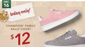 Champion Rally Sneakers Only $12 Today Only at Payless!